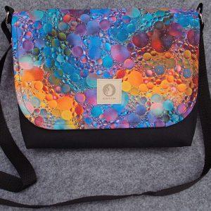 torba mess kolorowe bąbelki