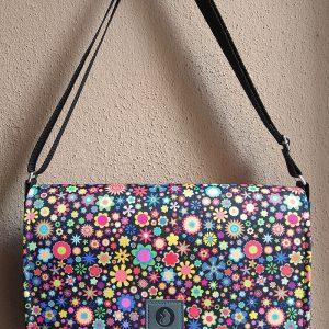 torba mess kolorowe kwiatuszki