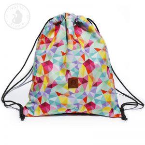 Plecak Kolorowe trókąty