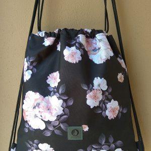 plecak worek różany ogród